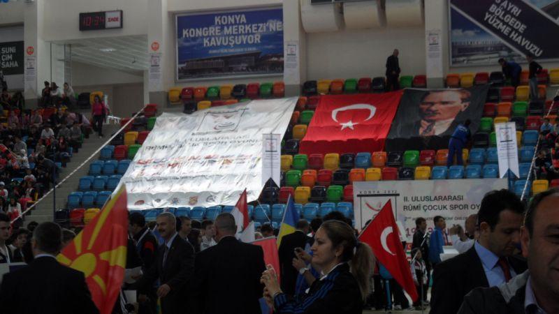 Internationales Kinderturnier Konya 2012 - Bild Eröffnungsfeier 3
