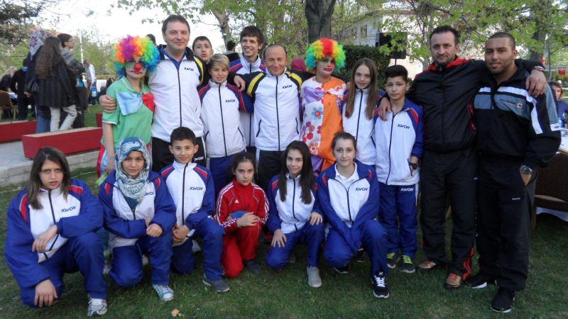 Internationales Kinderturnier Konya 2012 - BTU-Team beim Empfang des Provinz-Gouverneurs