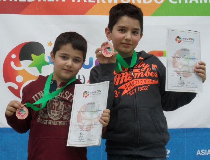 Internationales Kinderturnier Sindelfingen 2013 - Ada und Ege Baydar