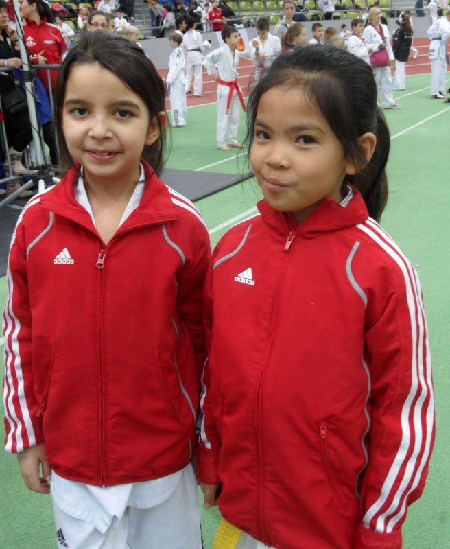 Internationales Kinderturnier Sindelfingen 2013 - Alara Öztürk und Leyla Gül