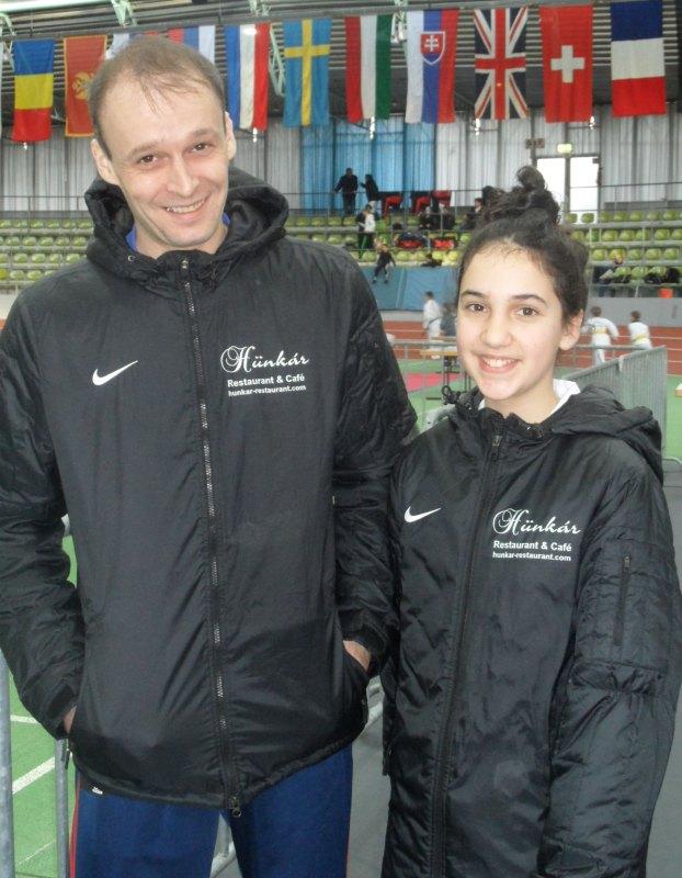 Internationales Kinderturnier Sindelfingen 2014 - Ingo Zuber und Chamutal Castano