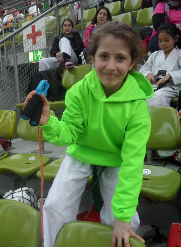 Internationales Kinderturnier Sindelfingen 2014 - Samira Danel