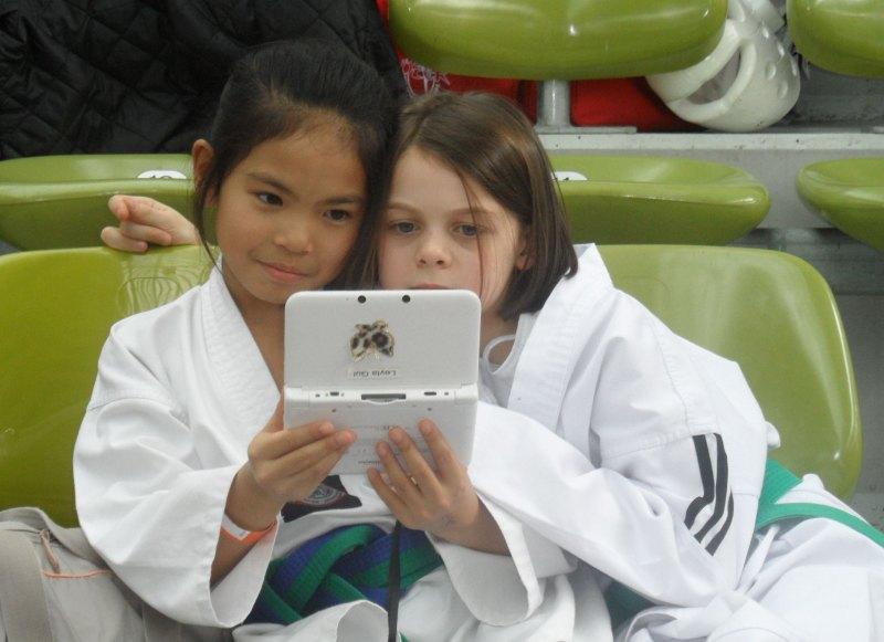 Internationales Kinderturnier Sindelfingen 2014 - Leyla Gül und Roja Rezaie