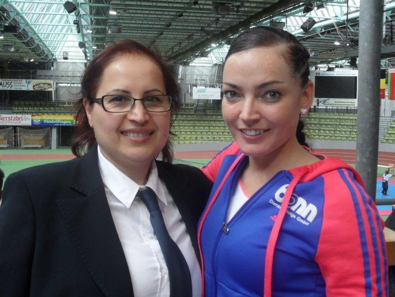 Internationales Kinderturnier Sindelfingen 2014 - Dilek Sam und Vera Komrsova