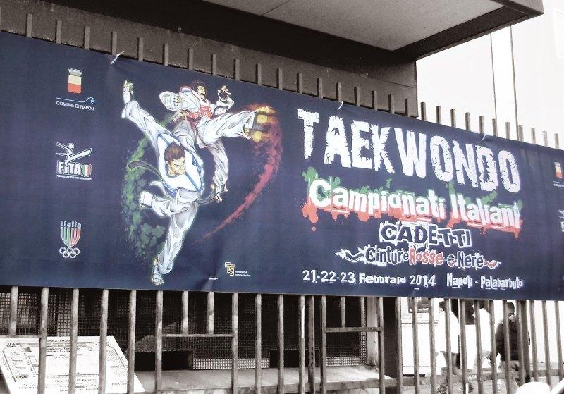 Italienische Meisterschaft der Kadetten 2014 Neapel - Plakat