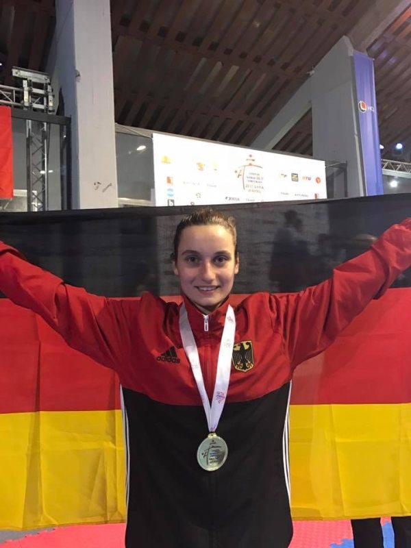 Junioren-U21-Europameisterschaft 2017 in Sofia - U21-Europameisterin Madeline Folgmann