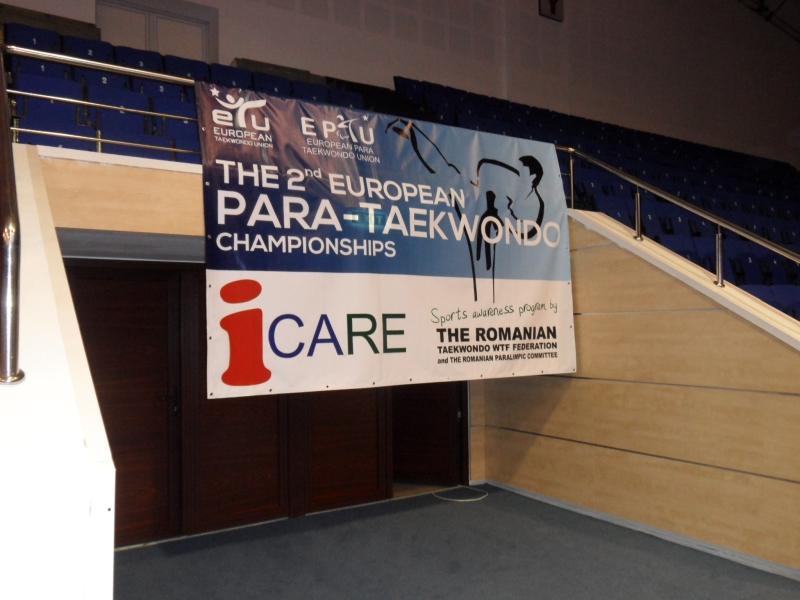 Kadetten-(U15)-Europameisterschaft 2013 in Bukarest - Plakat 2. Behinderten-Europameisterschaft