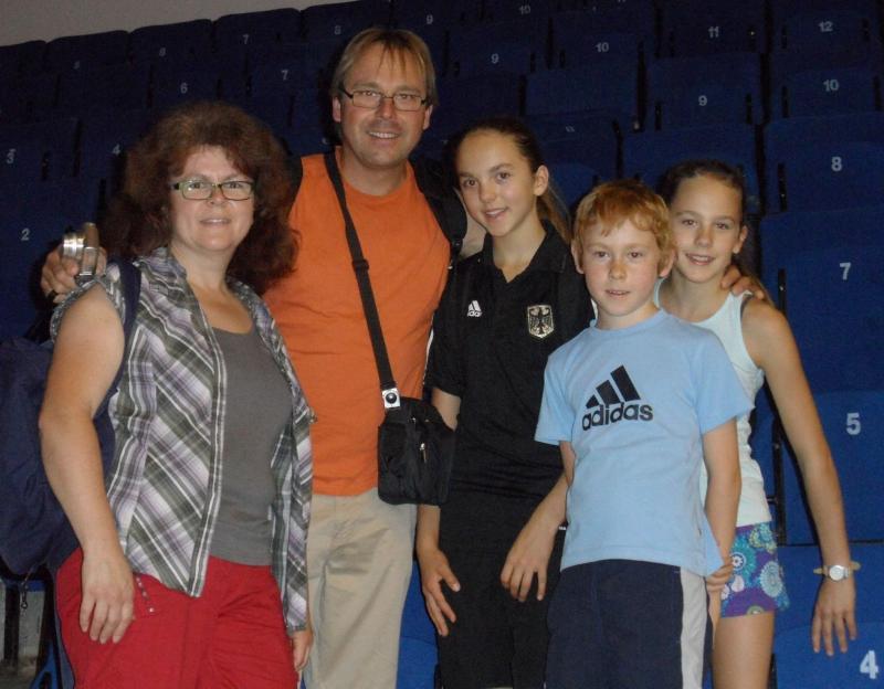 Kadetten-(U15)-Europameisterschaft 2013 in Bukarest - Familie Beckstein