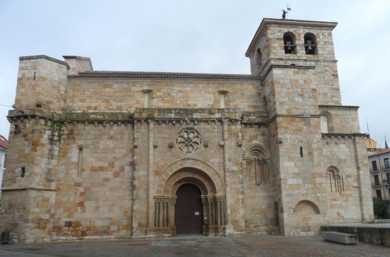 Romanische Kirche Santiago del Burgo in Zamora