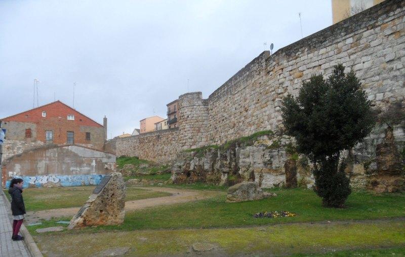Stadtmauer von Zamora