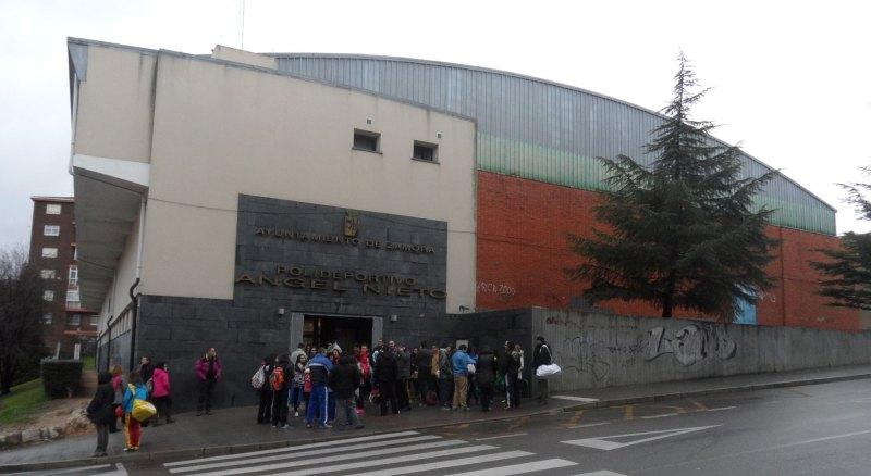 Sporthalle Angel Nieto in Zamora