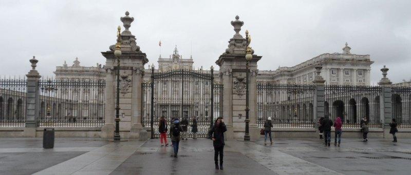 Königspalast in Madrid