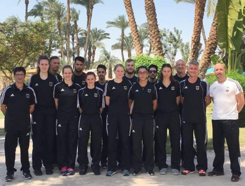 Luxor Open 2016 in Luxor - Das DTU-Team