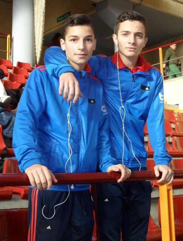 Yunus Emre und Hasan Ahmed Koca bei den Open de Andalucía 2013