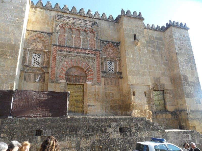 Tor an der Westwand der Mezquita-Catedral in Córdoba