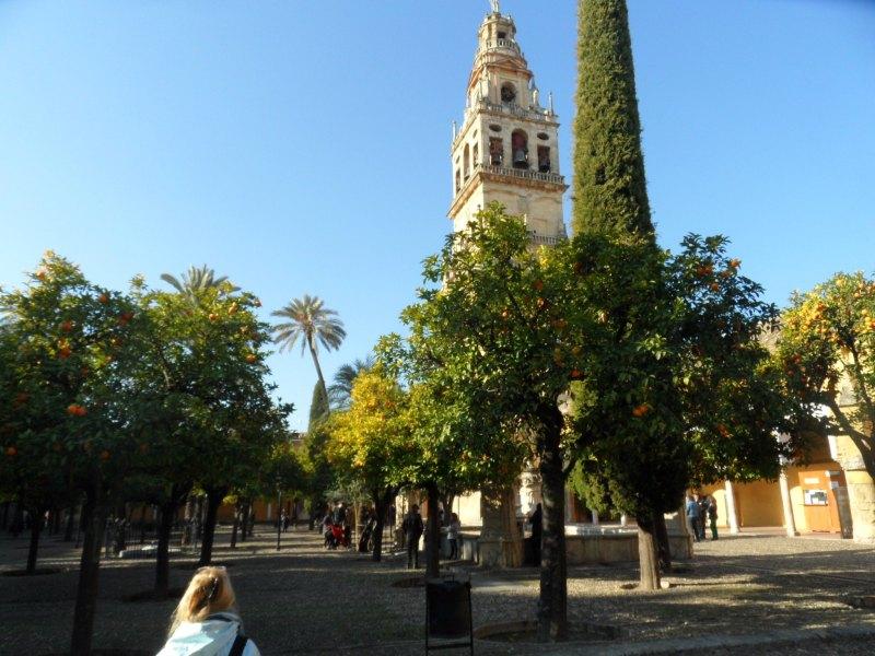 Innenhof der Mezquita-Catedral von Córdoba