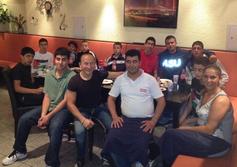 Essen im Istanbul Restaurant