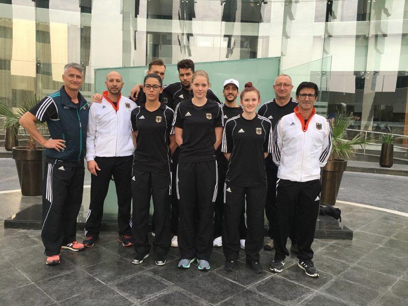 Qatar Open 2016 in Doha - Das DTU-Team