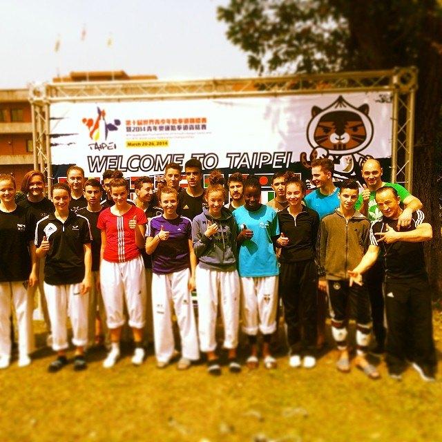Qualifikationsturnier für die Olympischen Jugend-Spiele 2014 in Taipeh - DTU-Team für Taipeh