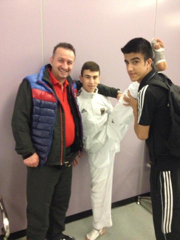 Qualifikationsturnier für die Olympischen Jugend-Spiele 2014 in Taipeh - Demirhan Aydin, Daniel Chiovetta und Hamza Adnan Karim