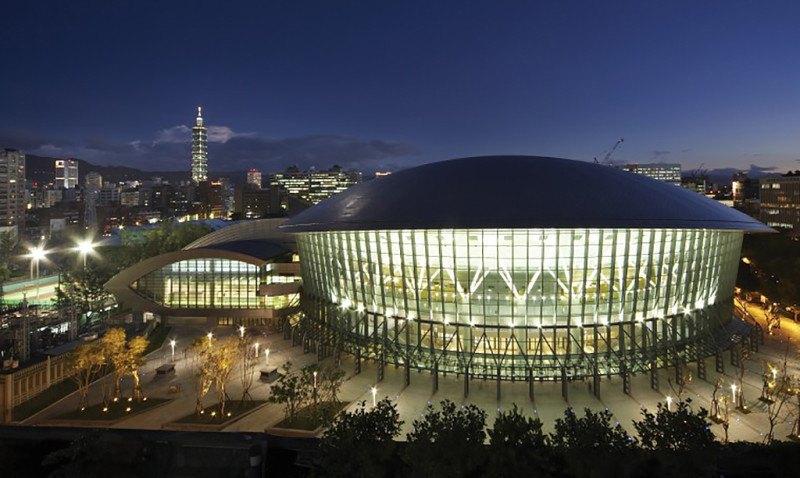 Qualifikationsturnier für die Olympischen Jugend-Spiele 2014 Taipeh - Wettkampfhalle