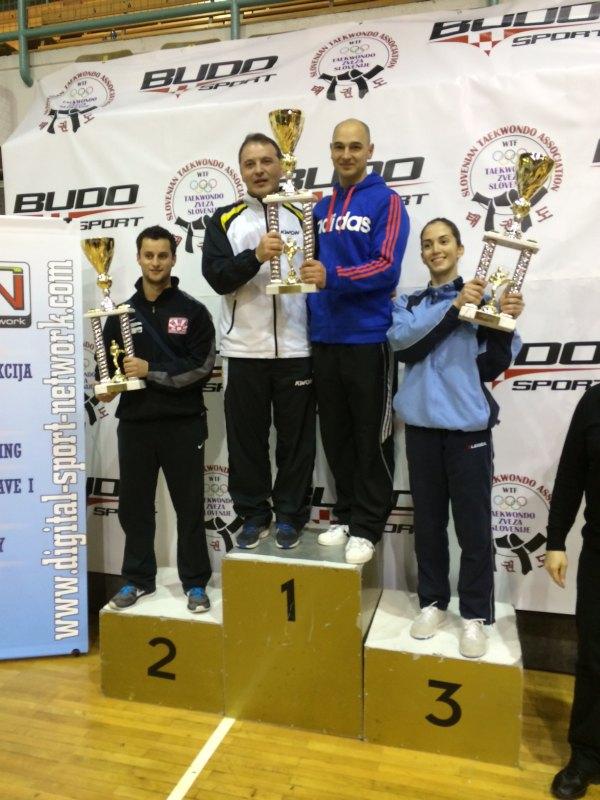 Slovenia Open 2014 in Maribor - Siegerehrung für die Mannschaftswertung