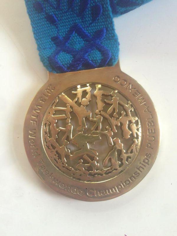 Tahirs WM-Medaille