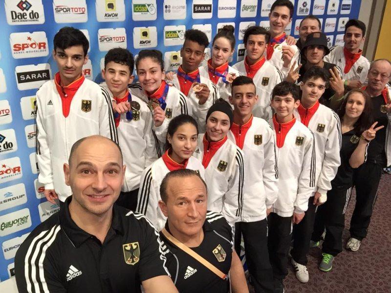 Turkish Open 2016 Belek - Das deutsche Jugend-Team
