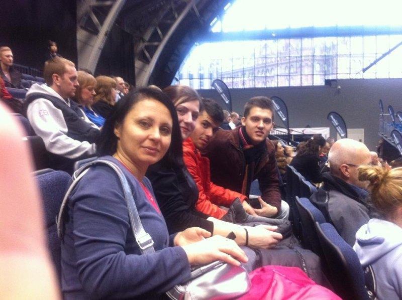 WTF World Grand Prix 2013 in Manchester - Hayat Gülec, Katharina Weiss und Tayfun Yilmazer