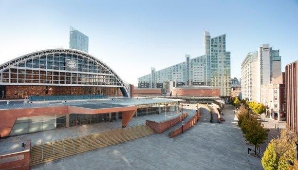 WTF World Grand Prix 2013 in Manchester - Wettkampfhalle