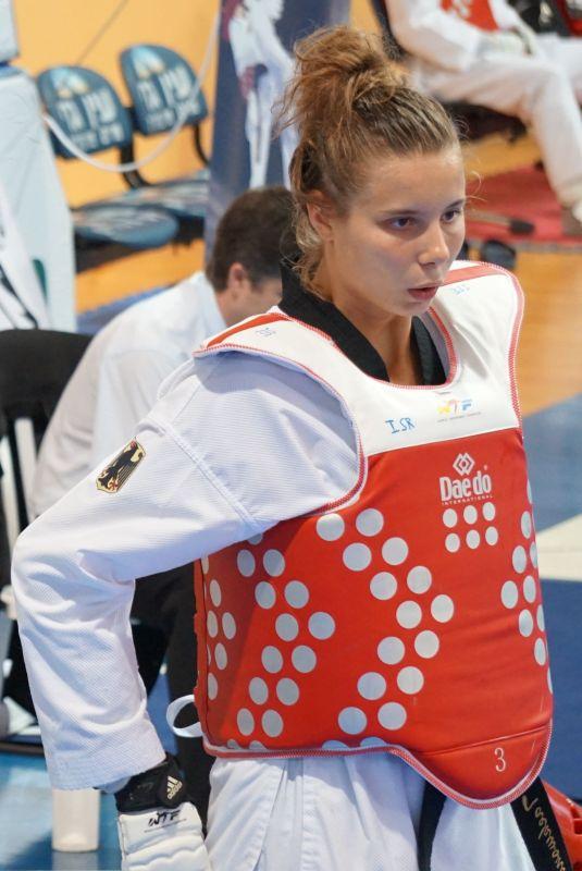 Yanna Schneider bei den Israel Open