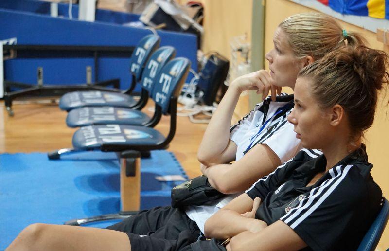 Helena Fromm und Yanna Schneider bei den Israel Open