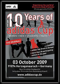 Plakat adidas Cup 2009