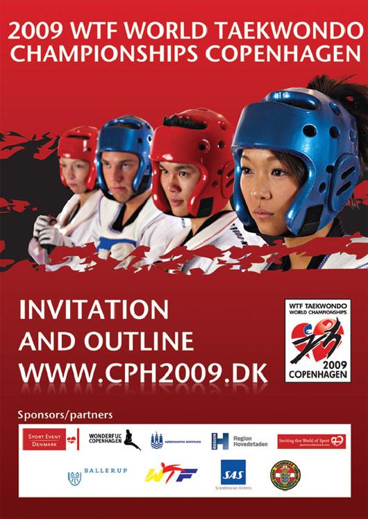 Plakat Weltmeisterschaft Senioren 2009