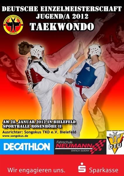 Plakat Deutsche Meisterschaft Jugend A 2012