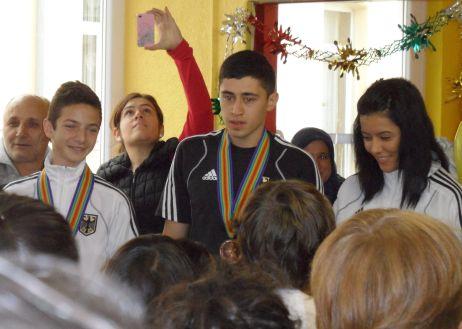 Galeriebild Begrüßungsparty Medaillengewinner Junioren-EM