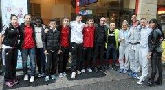Galeriebild Besuch des TKD Özer U18-EM-Teams bei Atlantik Döner