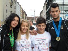 Galeriebild Empfang für Tahir und Rabia nach WM-Gold und -Bronze