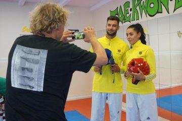 Galeriebild Fernsehaufnahmen für Beitrag in ZDF/KiKA-Nachrichtensendung 'logo!'