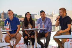 Galeriebild Fragerunde Nürnberger Olympia-Teilnehmer