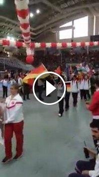 Galeriebild Internationales Kinderturnier Konya 2015 - Eröffnungsfeier - Video vom Einmarsch des deutschen Teams