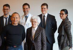 Galeriebild Pressekonferenz Medizinpreis für Taekwondo-Studie