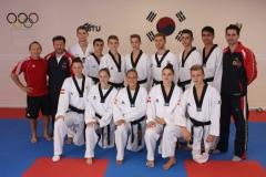 Galeriebild Trainingslehrgang mit dem Jugend-EM-Team Österreichs