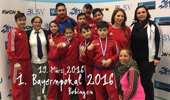 1. Bayernpokal 2016 in Bobingen - Titel