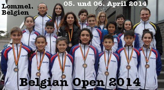 Belgian Open 2014 in Lommel - Titel