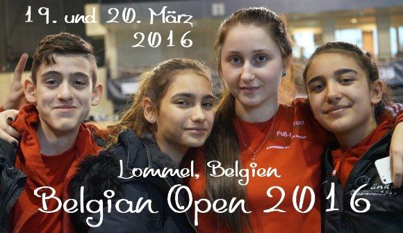 Belgian Open 2016 in Lommel - Titel