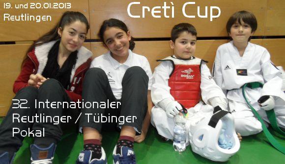 Creti Cup Reutlingen 2013 - Titel