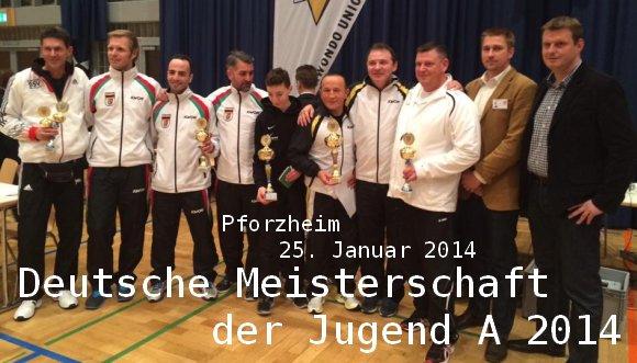 Deutsche Meisterschaft der Jugend A 2014 in Pforzheim - Titel