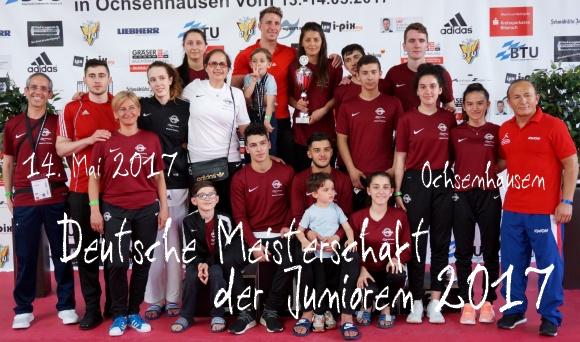 Deutsche Meisterschaft der Junioren 2017 in Ochsenhausen - Titel