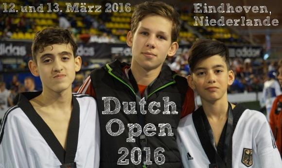 Dutch Open 2016 in Eindhoven - Titel